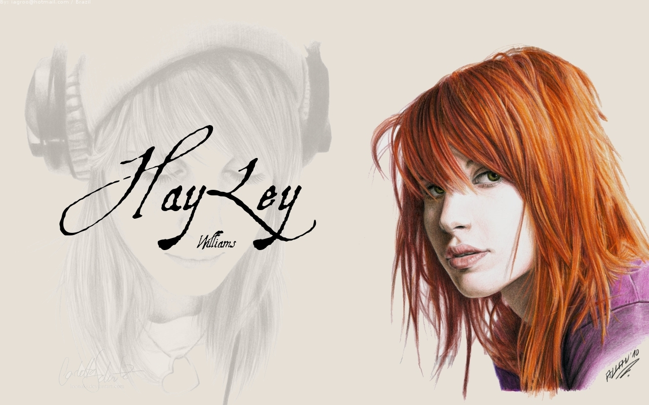 Hayley Williams Wallpaper by iagro wallpapers   Paramore 1280x800