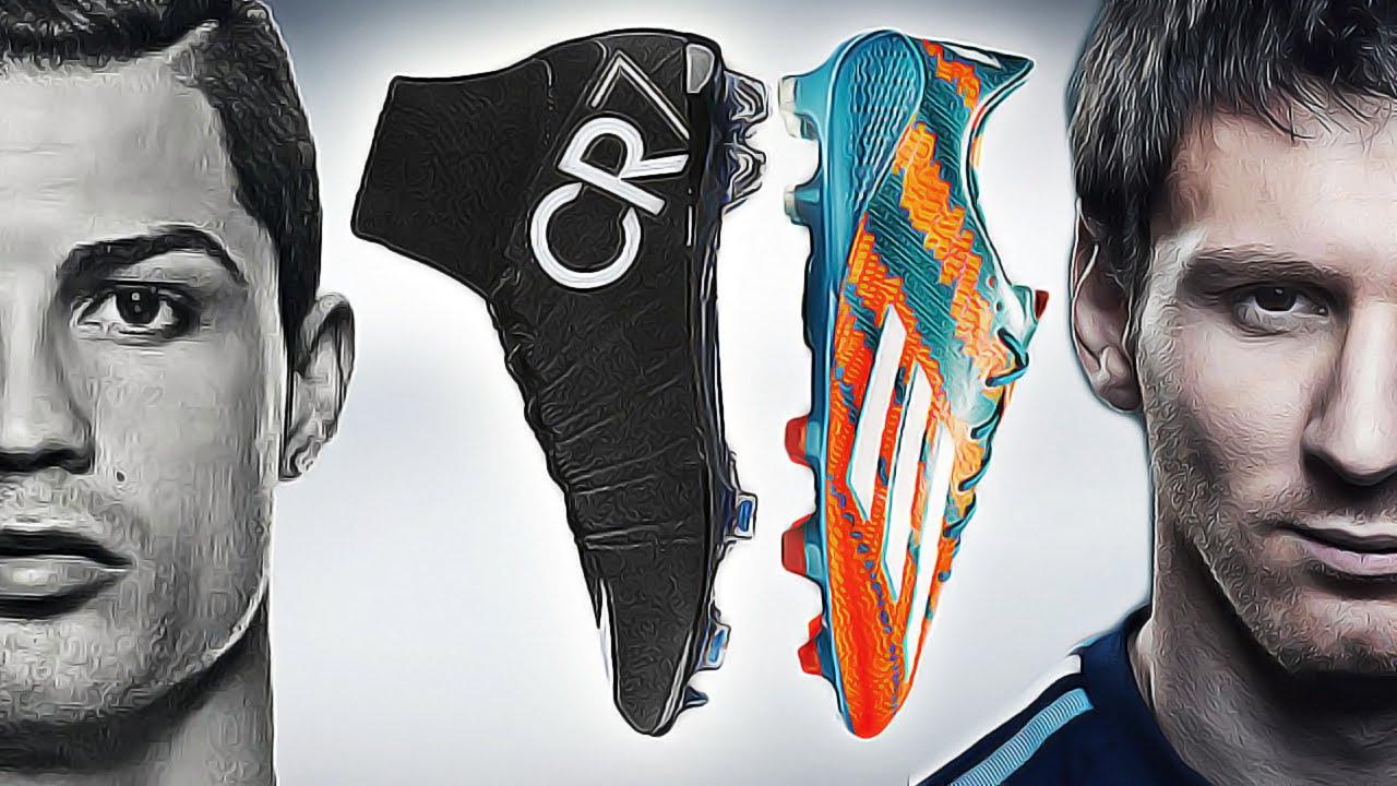 Ronaldo VS Messi Boot Battle Nike Superfly CR7 vs 1280x720