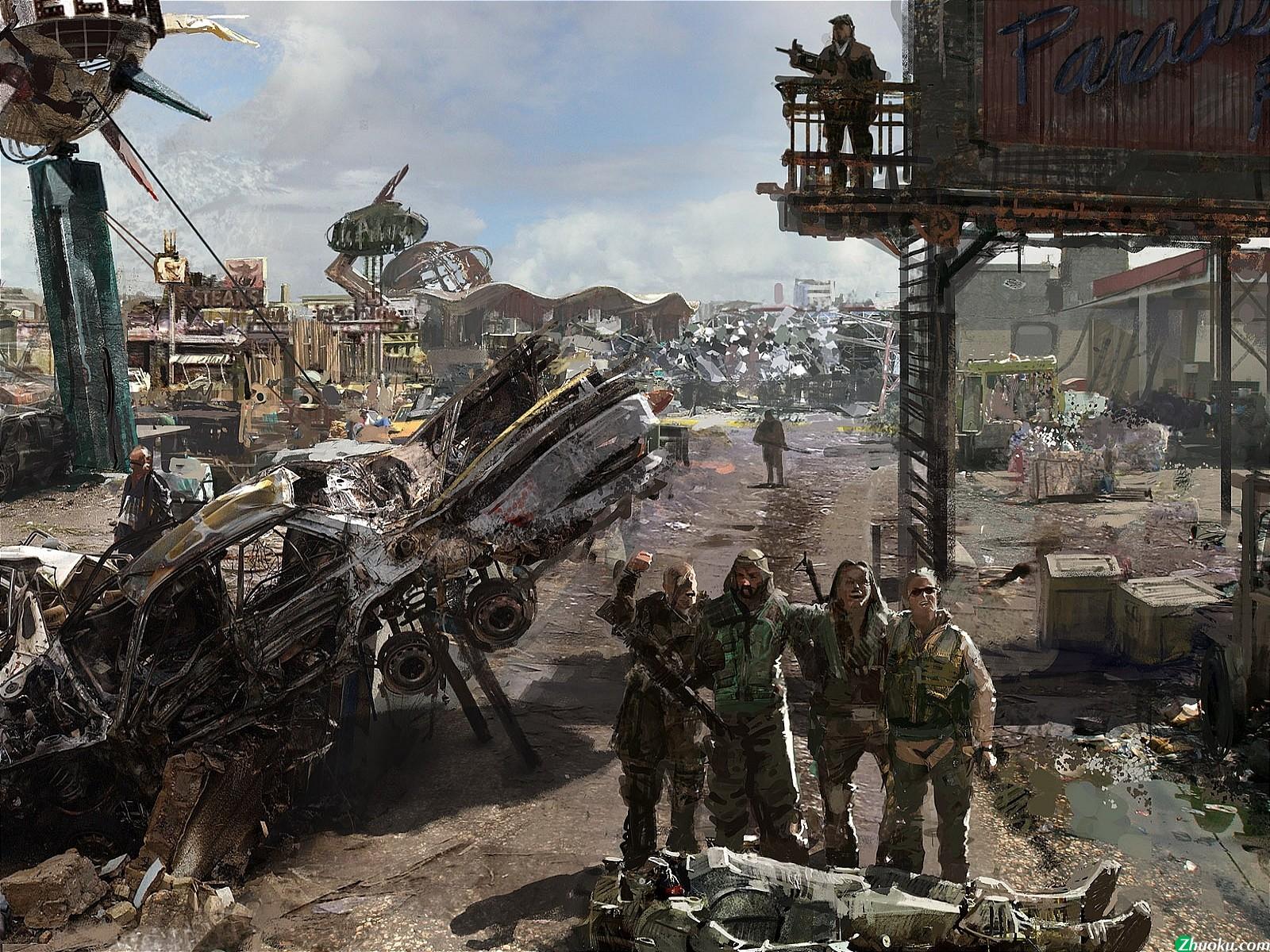 Fallout Concept Wallpaper 1600x1200 Fallout Concept Art 1600x1200