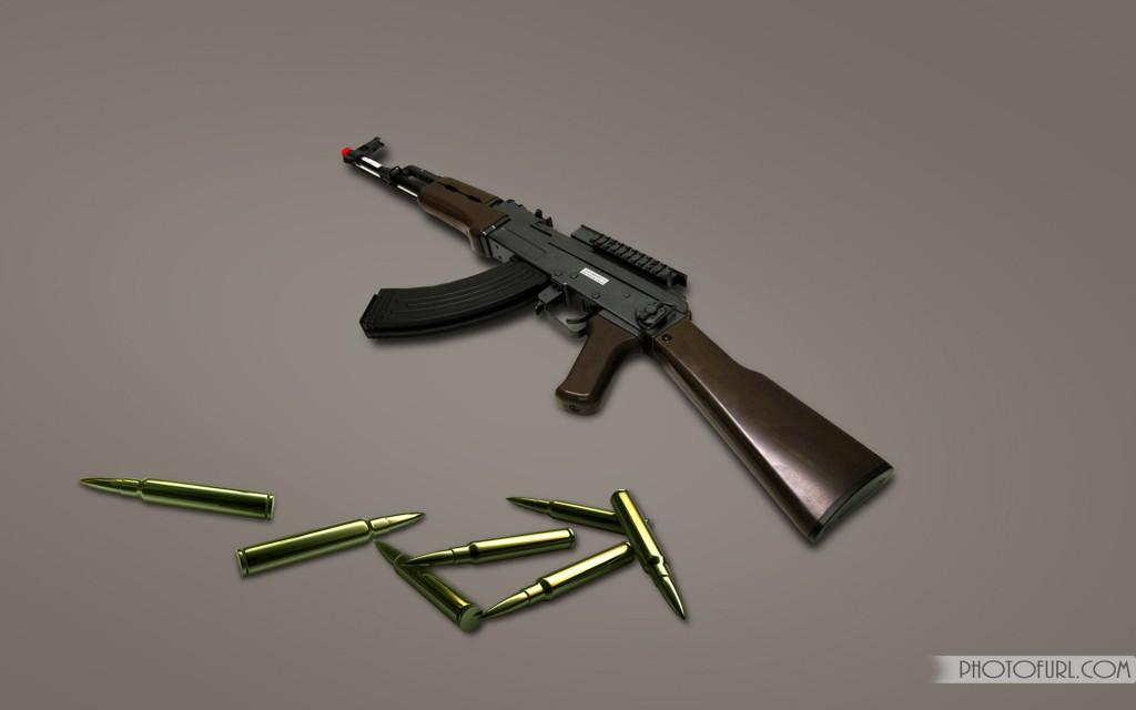 Guns Pistols Shortgun And Rifles Wallpaper For Computer 1024x640
