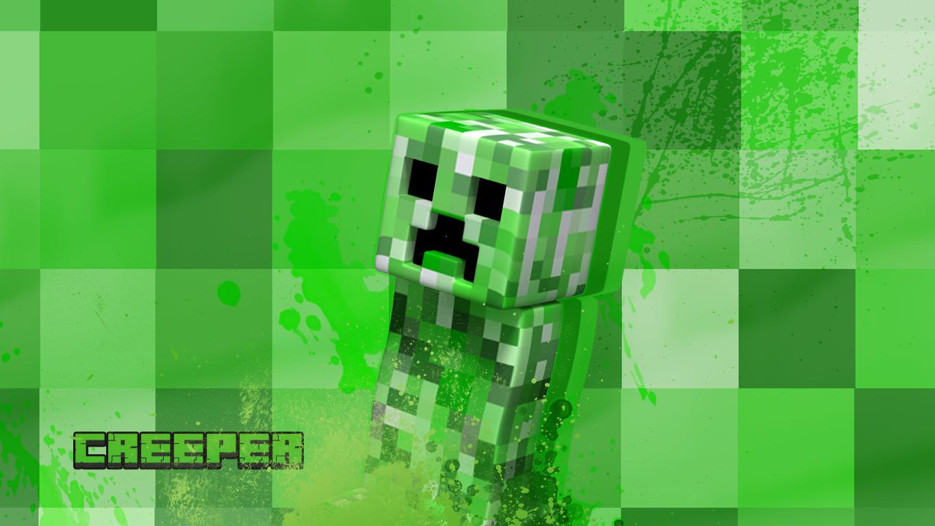 Minecraft Wallpaper Hd Creeper Lock Down X