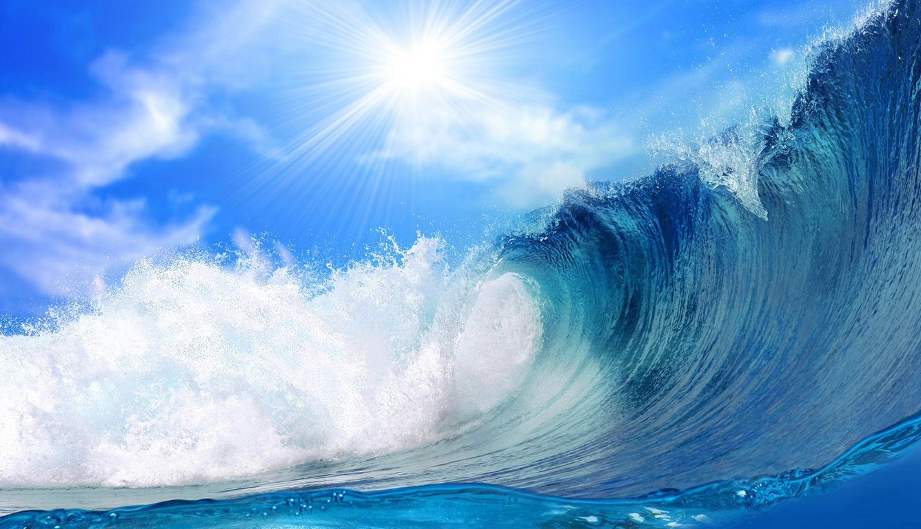 Free Ocean Waves Wallpaper WallpaperSafari Image Source From This