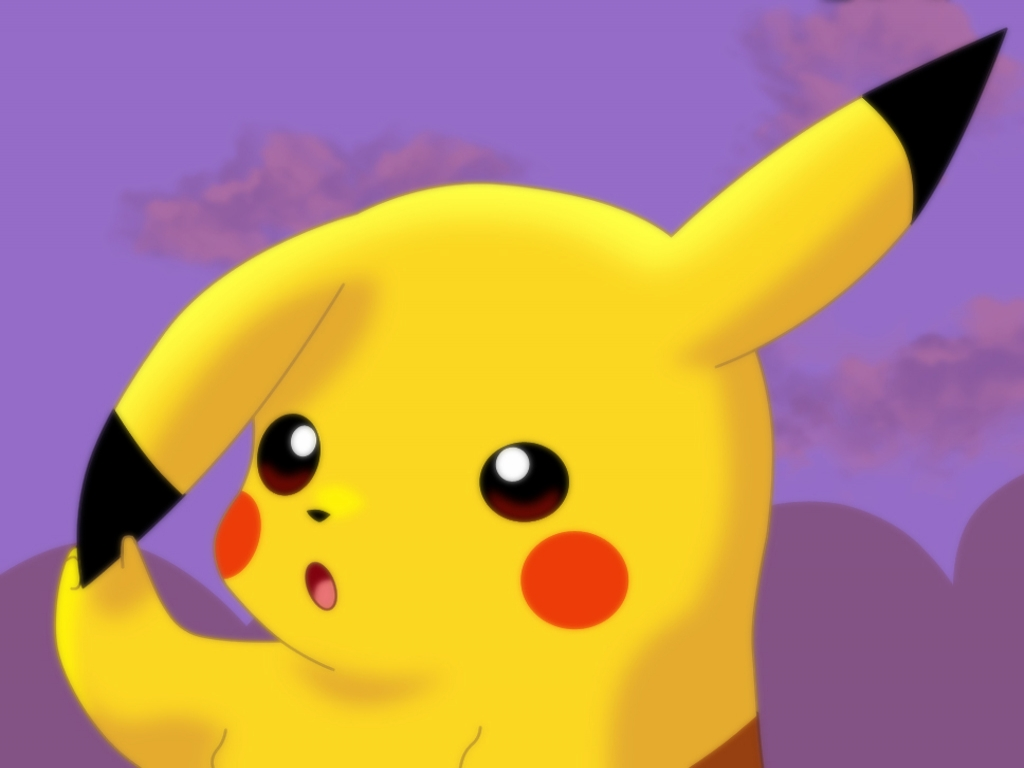 Cute Pikachu Wallpaper 4251 Hd Wallpapers in Games   Imagescicom 1024x768