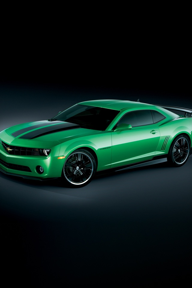 Cars   Chevrolet Camaro Synergy   iPad iPhone HD Wallpaper 640x960