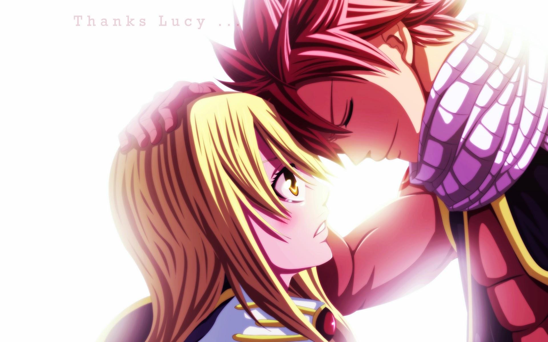lucy heartfilia and natsu dragneel fairy tail anime hd wallpaper 1920x1200
