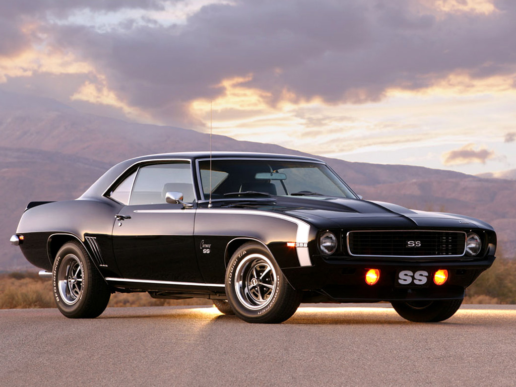 Chevrolet Wallpapers Chevrolet Camaro SS 396 1969 Wallpapers 1024x768