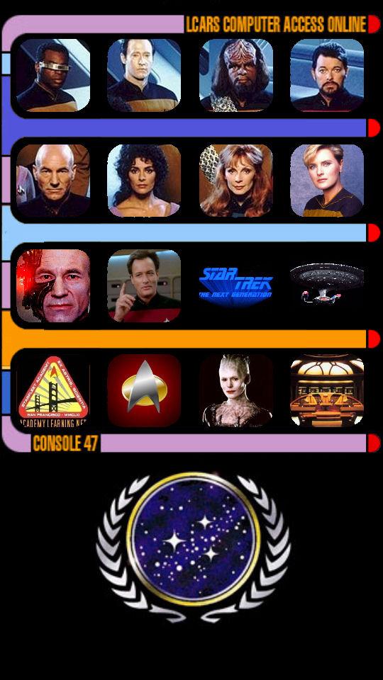 Star Trek TNG LCARS wallpaper for iPhone 5 by Brandtk 540x960