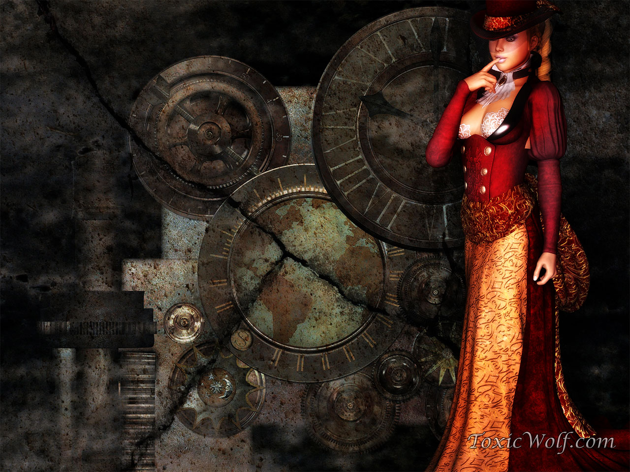 Steampunk Wallpaper 1280x960