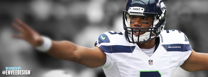 c1457e997 Russell Wilson Seahawks Facebook Cover by enveedesigns 851x315