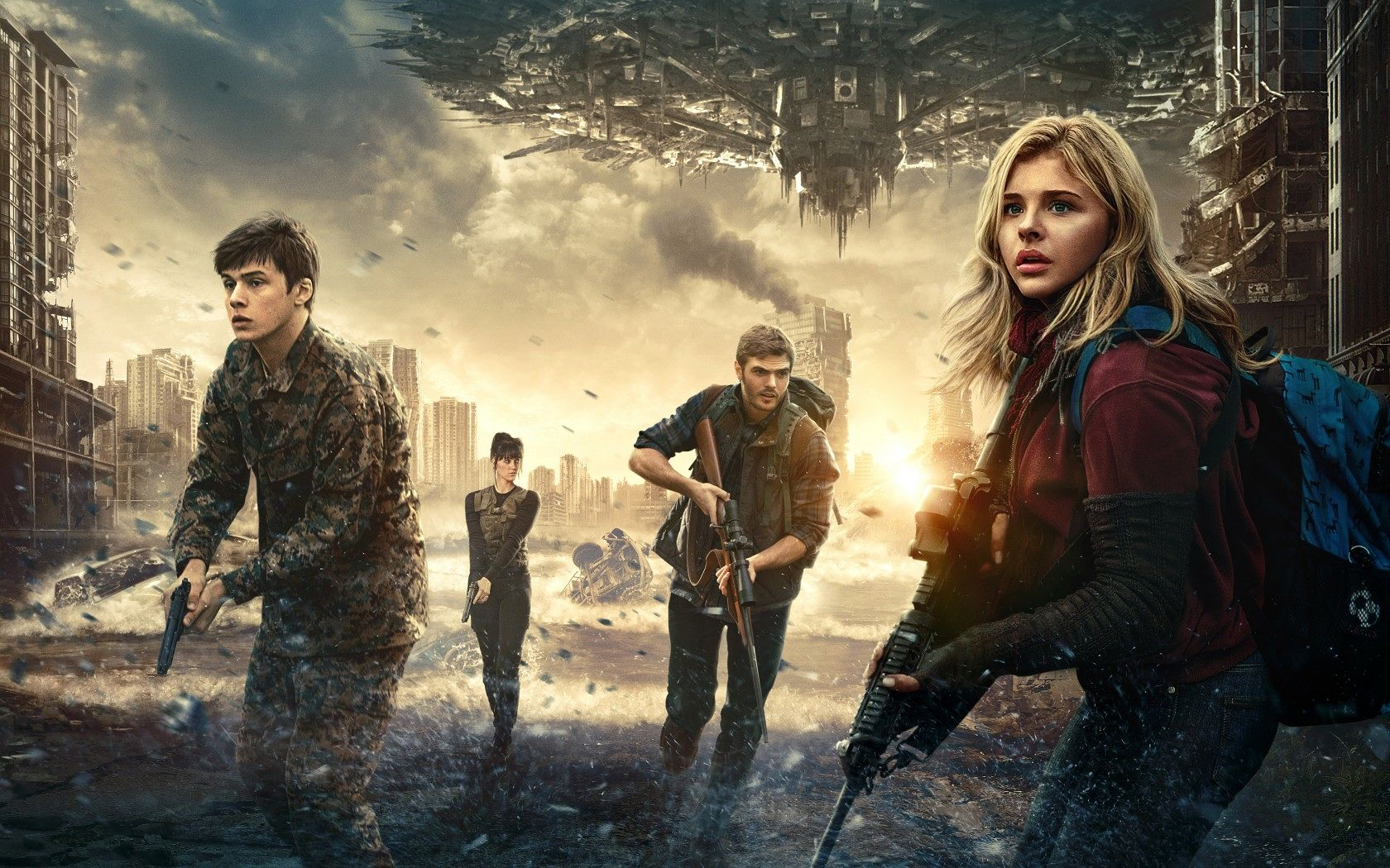 Five Reasons to See The 5th Wave   Wildcat Scratch Post 1680x1050