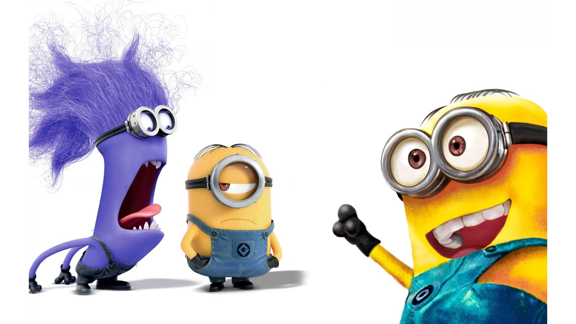 Evil Minion Purple Minion   1920x1080   471745 1920x1080