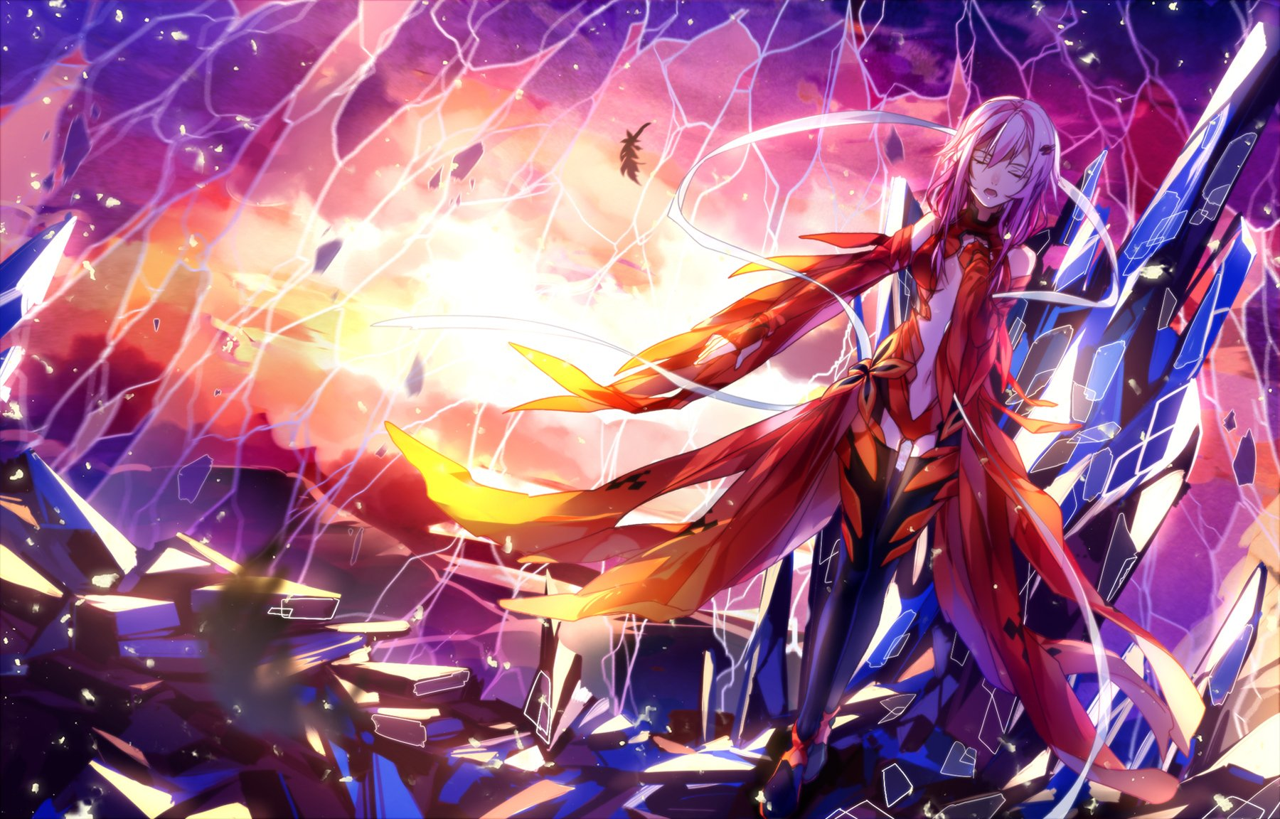 300 Guilty Crown HD Wallpapers Background Images 1800x1152