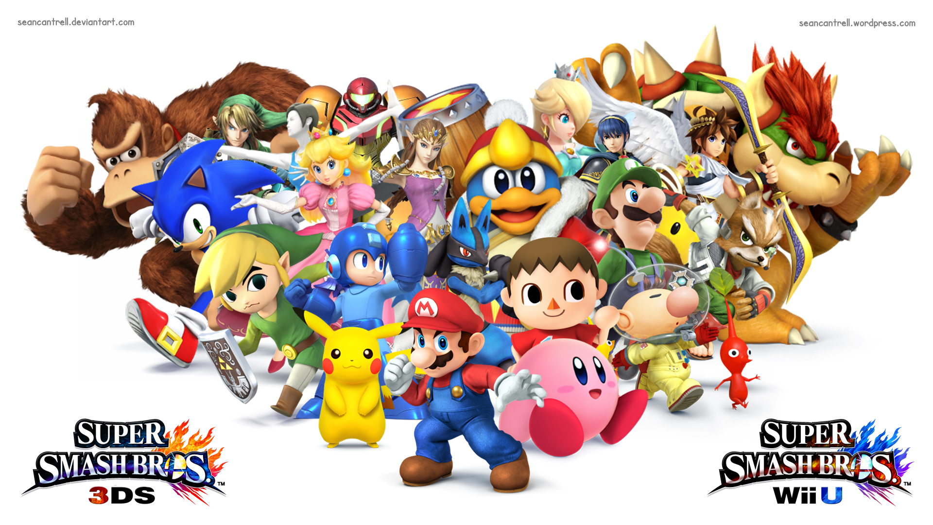 45 Super Smash Bros Hd Wallpaper On Wallpapersafari