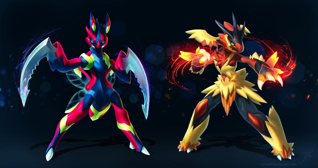 Pokemon fusion wallpapers wallpapersafari - Pokemon mega evolution blaziken ...