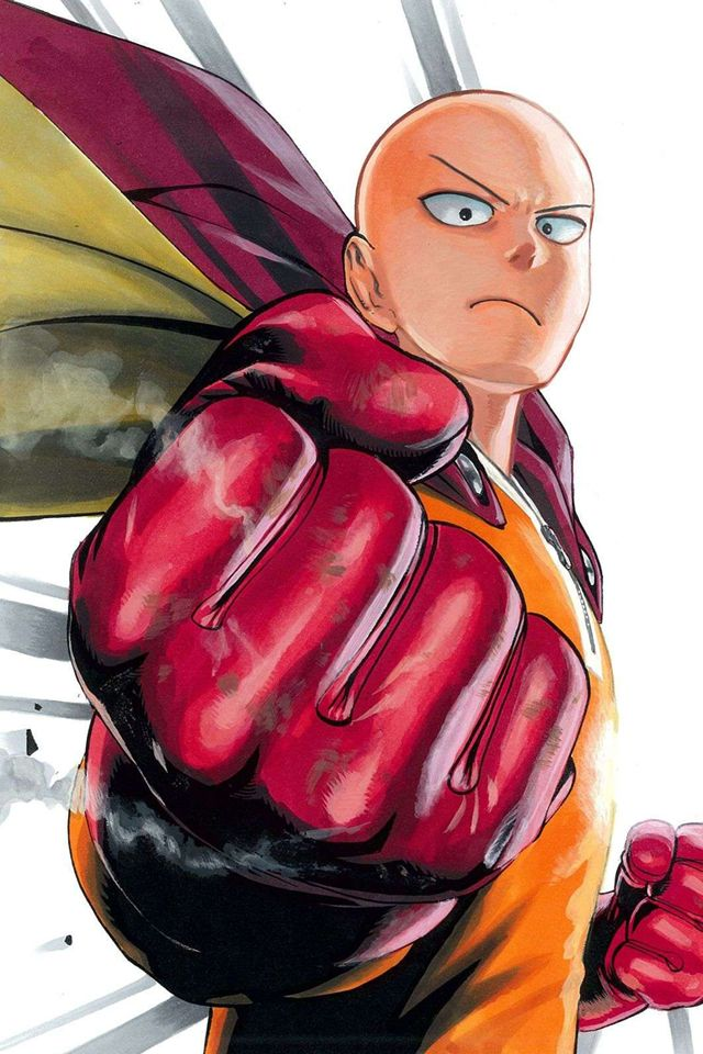 48 One Punch Man Phone Wallpaper On Wallpapersafari