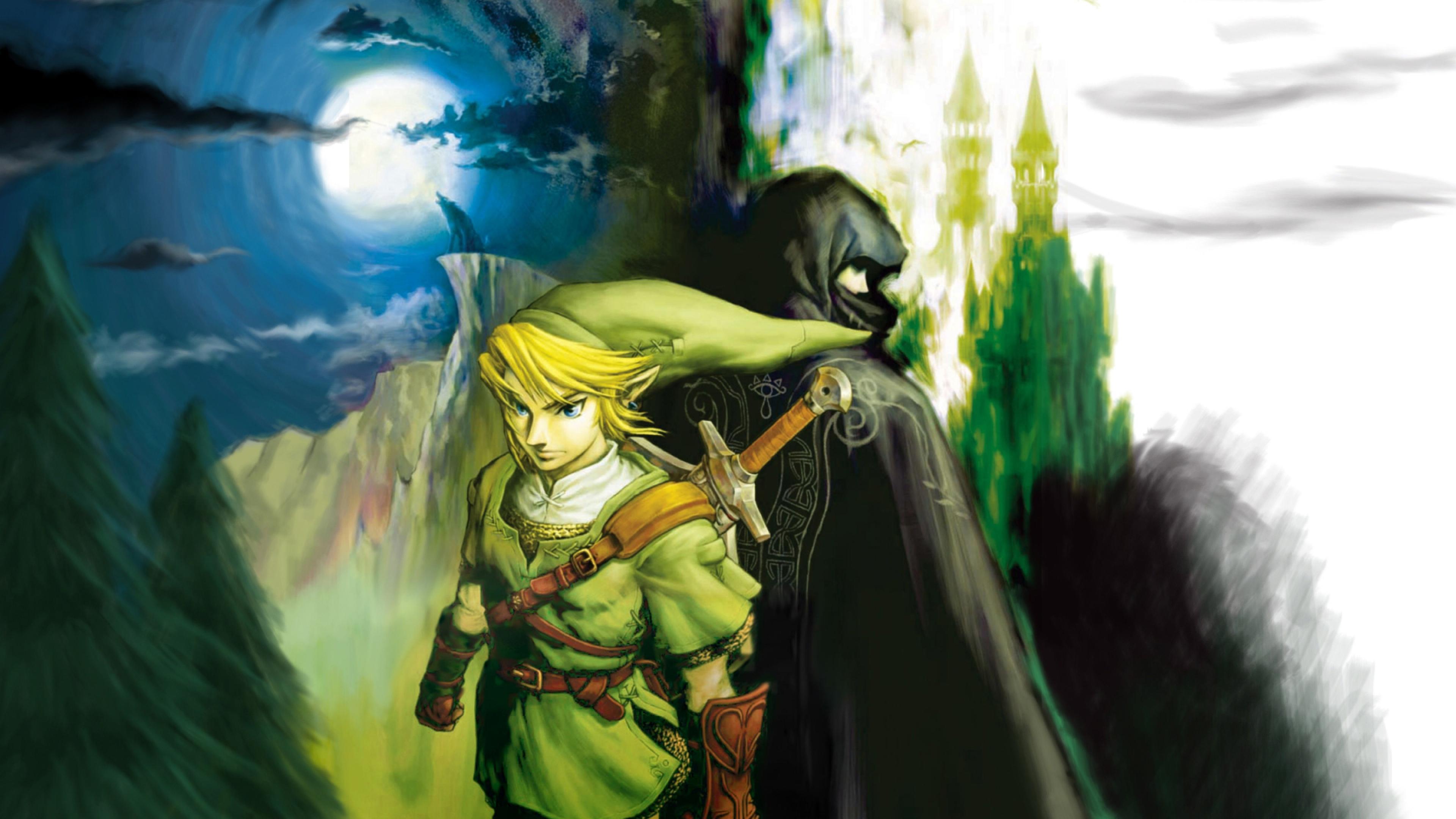 Download Wallpaper 3840x2160 the legend of zelda character elf arm 3840x2160