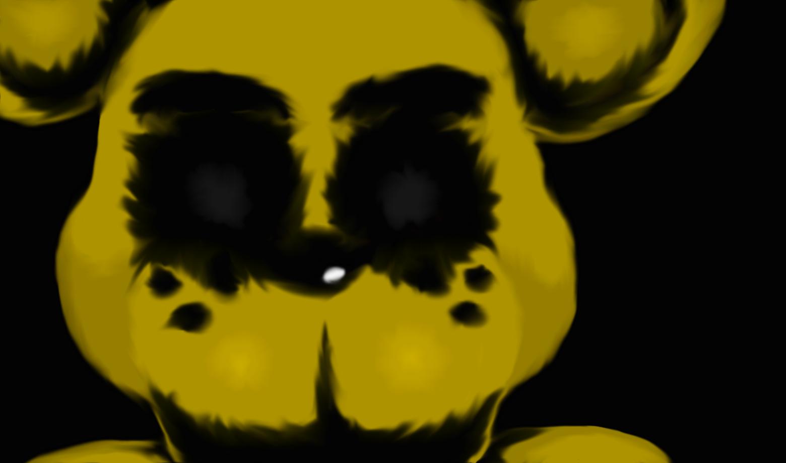Death by golden Freddy back ground by Spazzygamergirl 1560x919