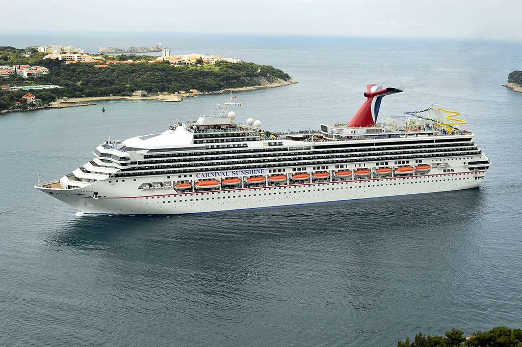 Re launched as the Carnival Sunshine March 2013 1024x682