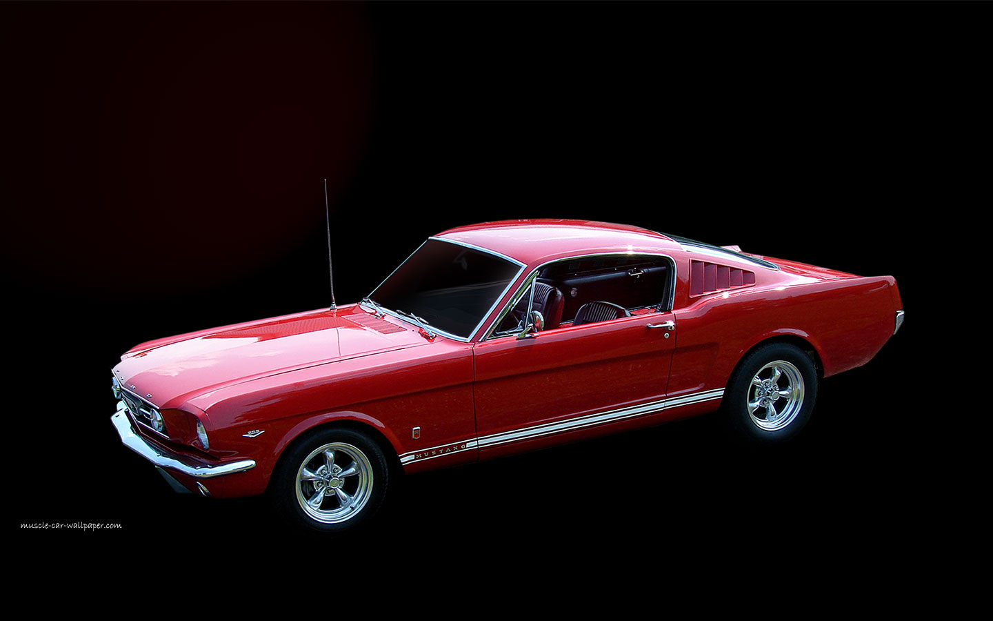 ford mustang gt fastback wallpaper left side view 1440 14 1966 mustang 1440x900