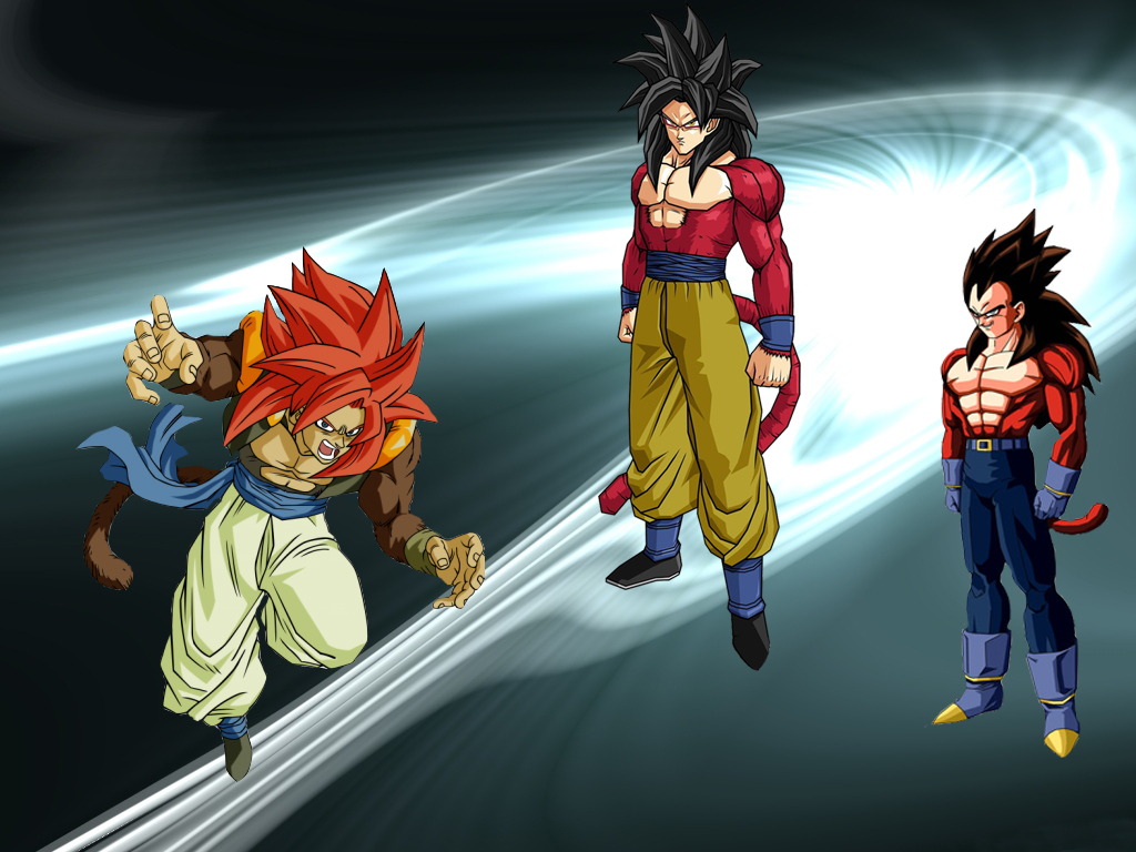Pics Photos   Ssj4 Goku Ssj4 Vegeta And Ssj4 Gogeta Wallpaper 1024x768