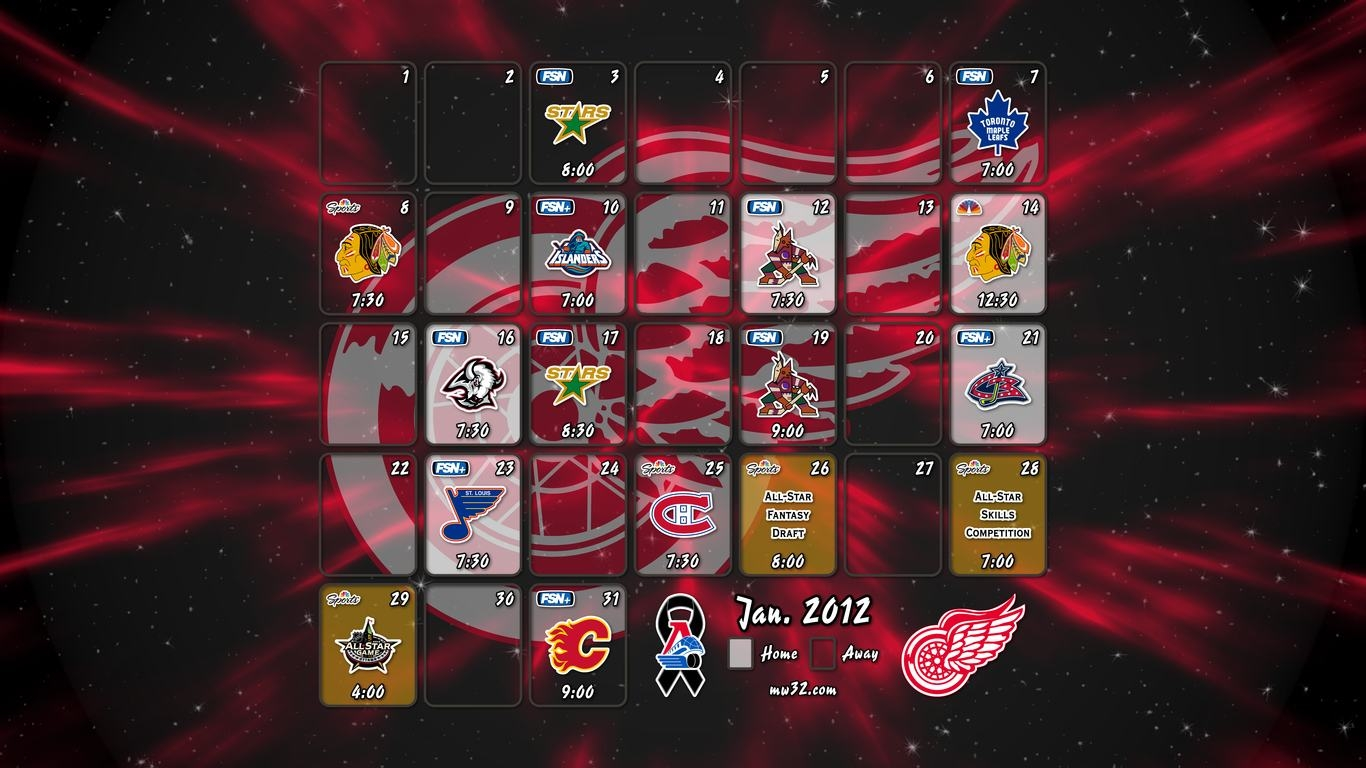 Detroit Sports Desktop Wallpaper