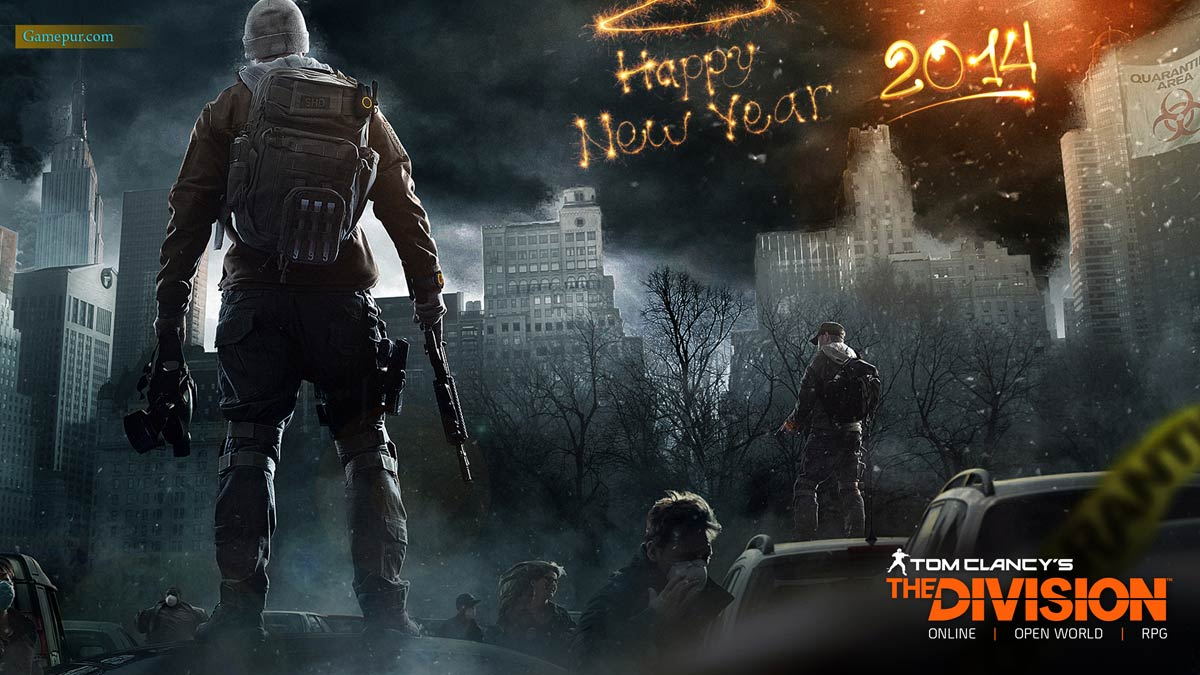 Tom Clancys The Division HD New Year Wallpaper 1200x675
