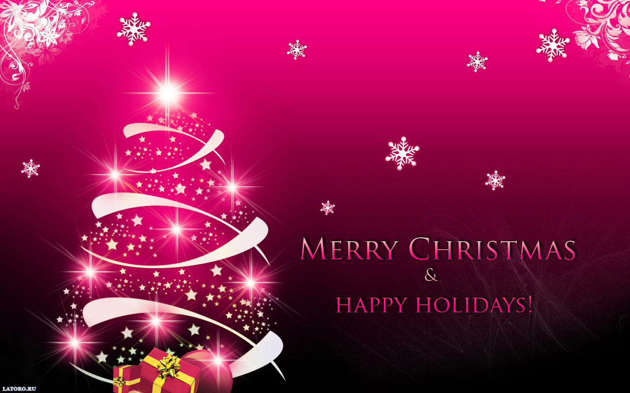 download Merry Christmas Desktop Wallpapers FREE on Latorocom 1280x800