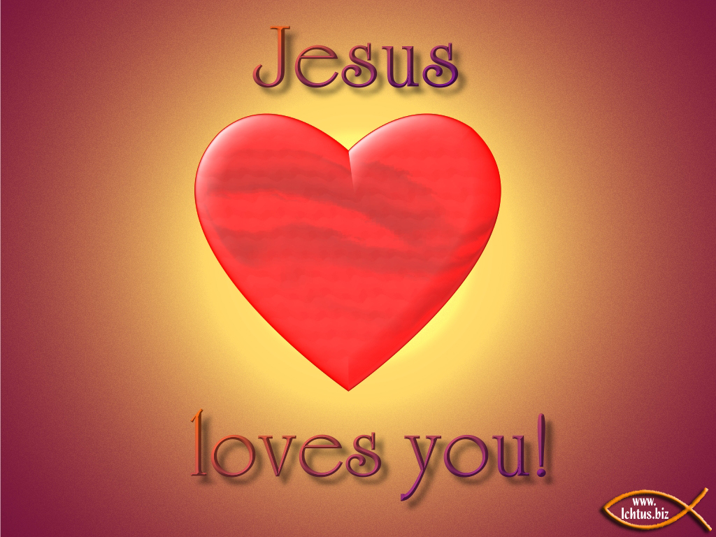 Jesus Loves You Wallpaper - WallpaperSafari