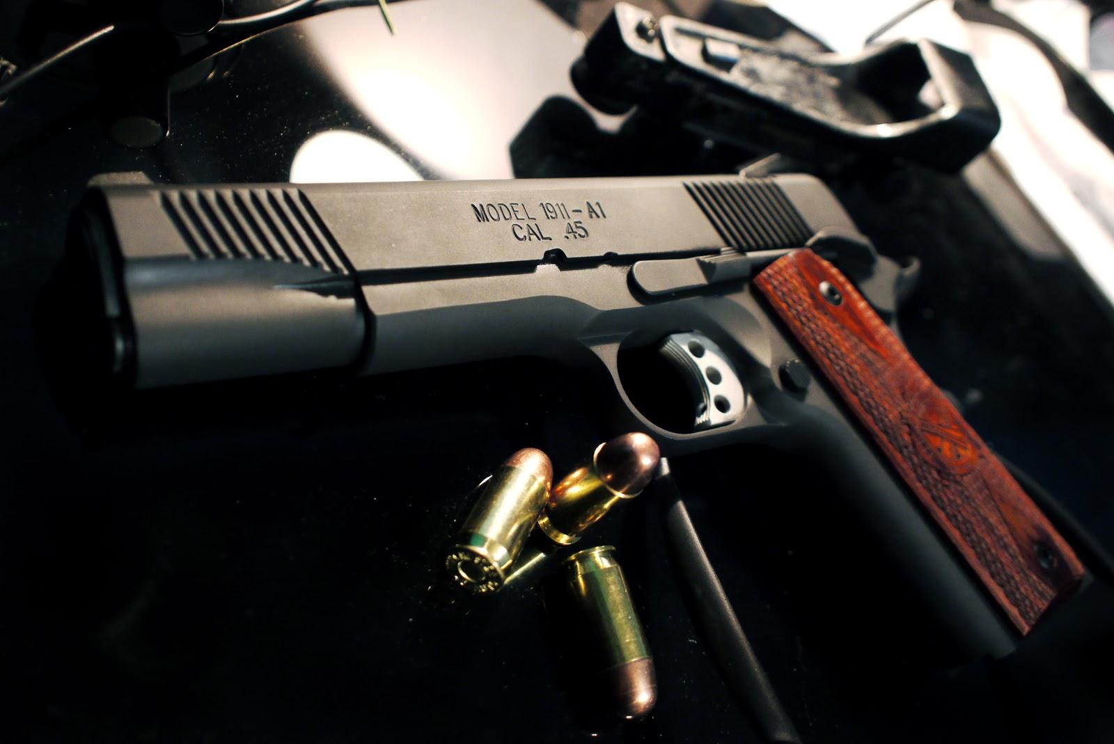 guns weapons m1911 45acp desktop 4000x2672 hd wallpaper 628897jpeg 1600x1069