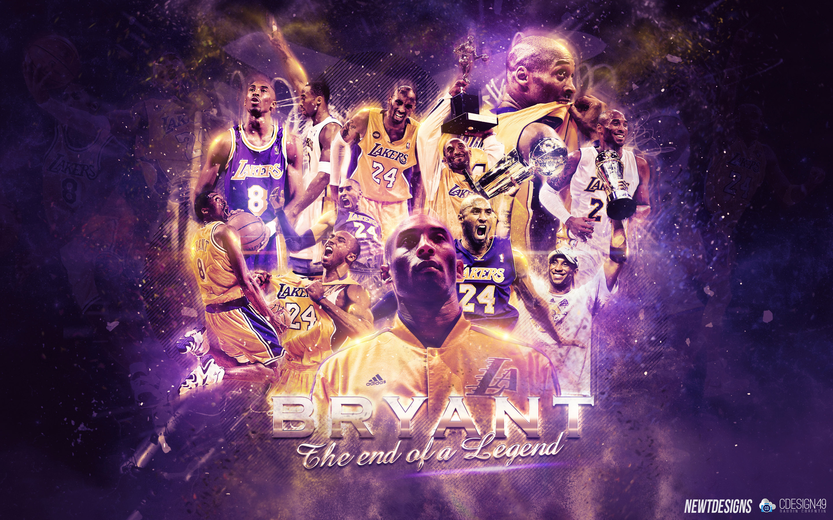 Los Angeles Lakers Wallpapers Basketball Wallpapers at 2880x1800