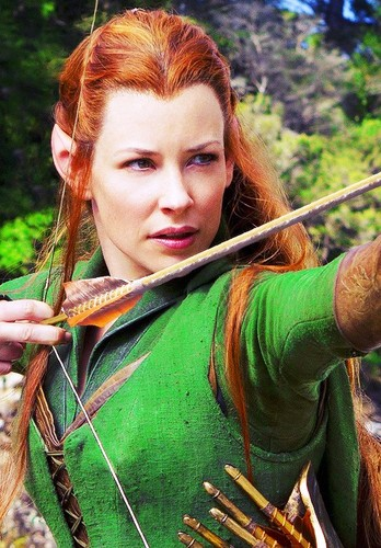 The Hobbit   Tauriel Wallpaper images in the Tauriel club tagged 348x500