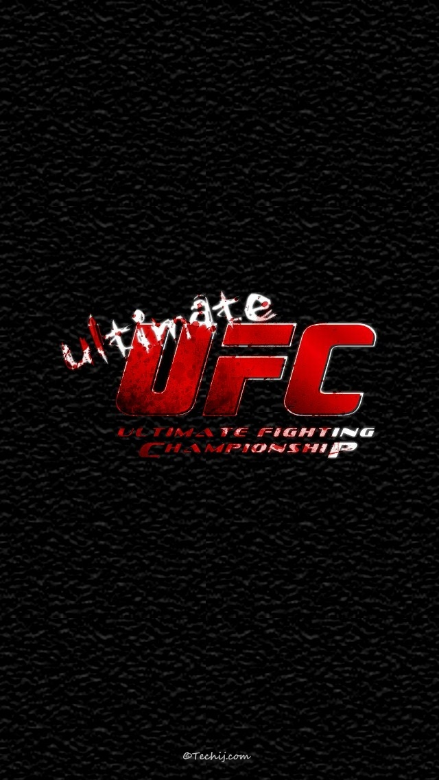 UFC iPhone 6 Wallpaper 640x1136