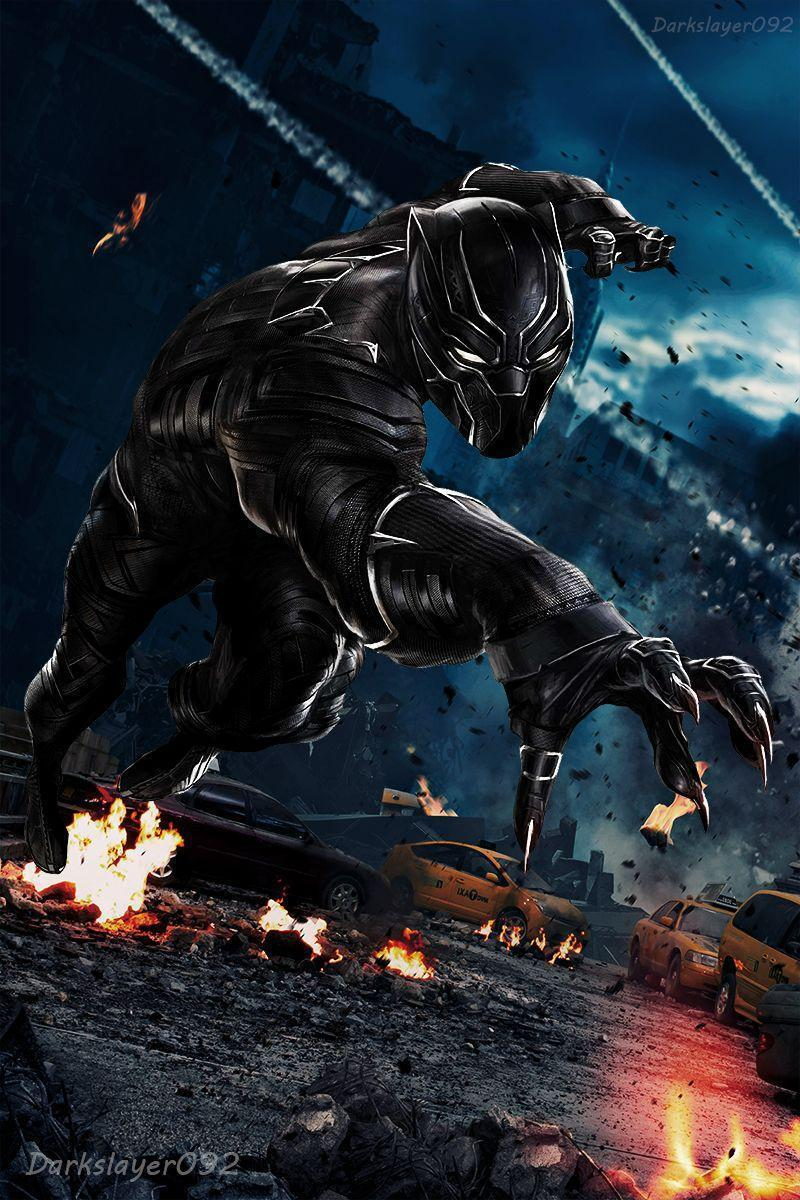 Black Panther Marvel Wallpapers 800x1200
