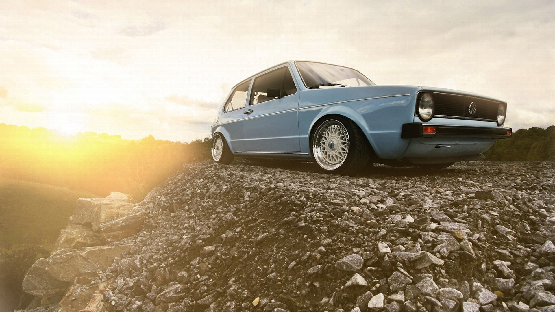 Low CleanMK II VR6 Crusin Volkswagen golf mk1 Volkswagen 1920x1080