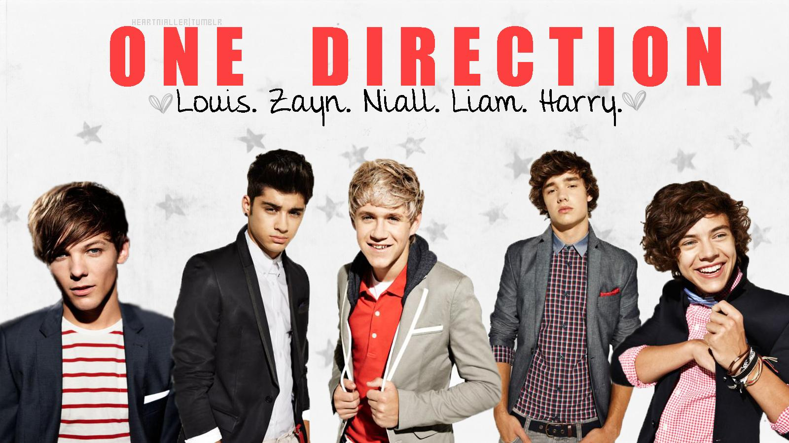One Direction Backgrounds 1600x900