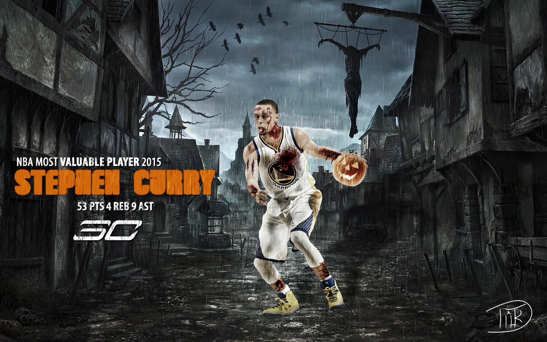 Stephen Curry Halloween 2015 Wallpaper Basketball Wallpapers at 1920x1200