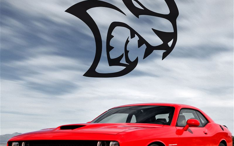 hellcat logo will the hellcat powered challenger become the first 799x499