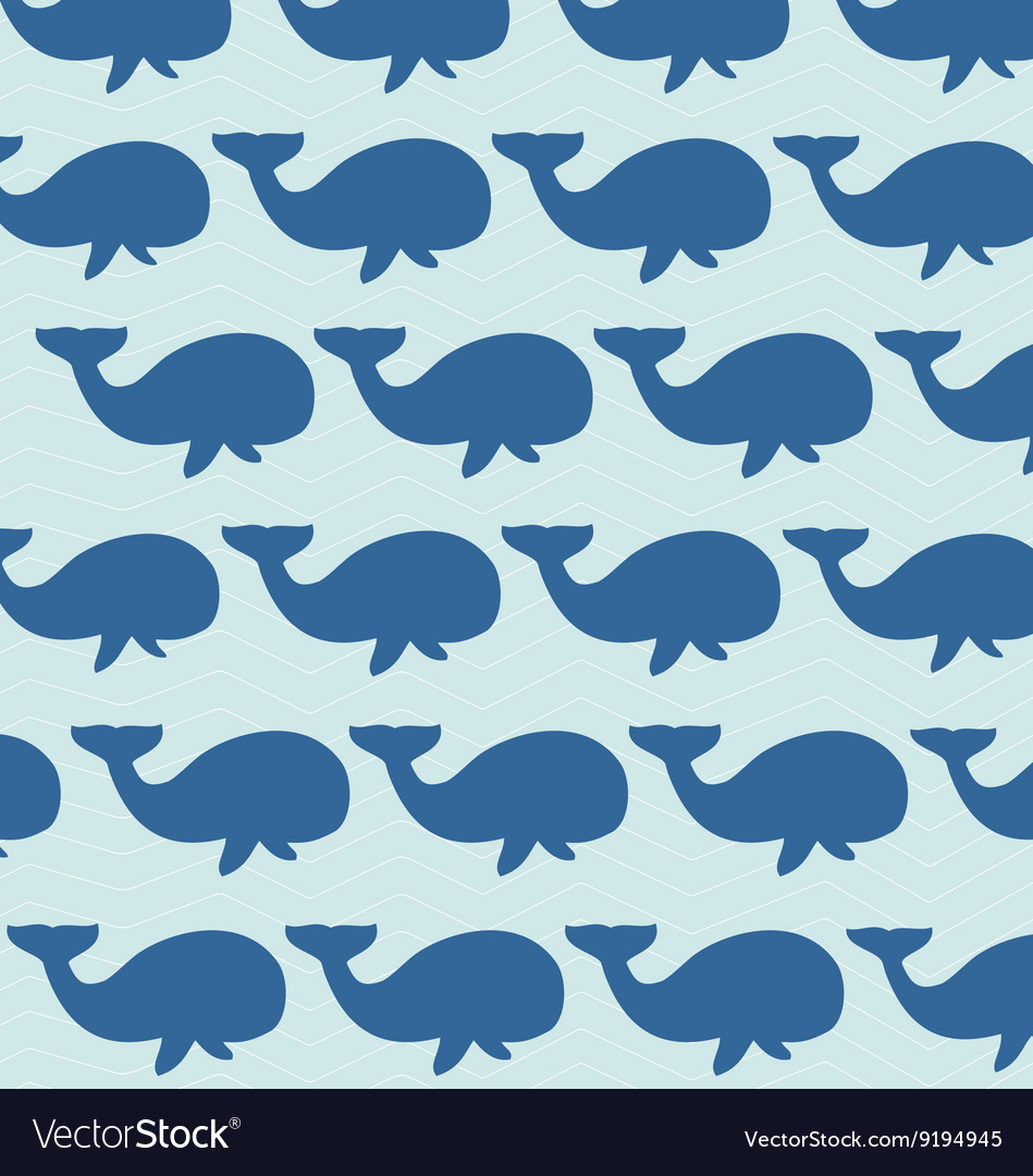 Whales background Royalty Vector Image   VectorStock 949x1080