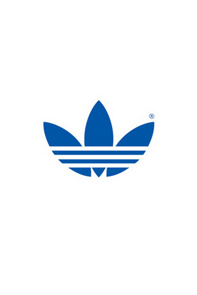 Download for iPhone logos wallpaper Adidas Logo 640x960