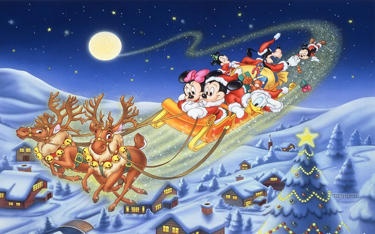 Free Download Mouse And Minnie Mouse Christmas Wallpaper Mickey