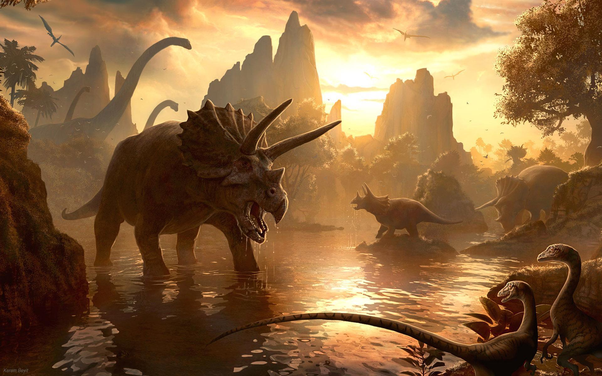 3D Dinosaurs Wallpaper 7034491 1920x1200