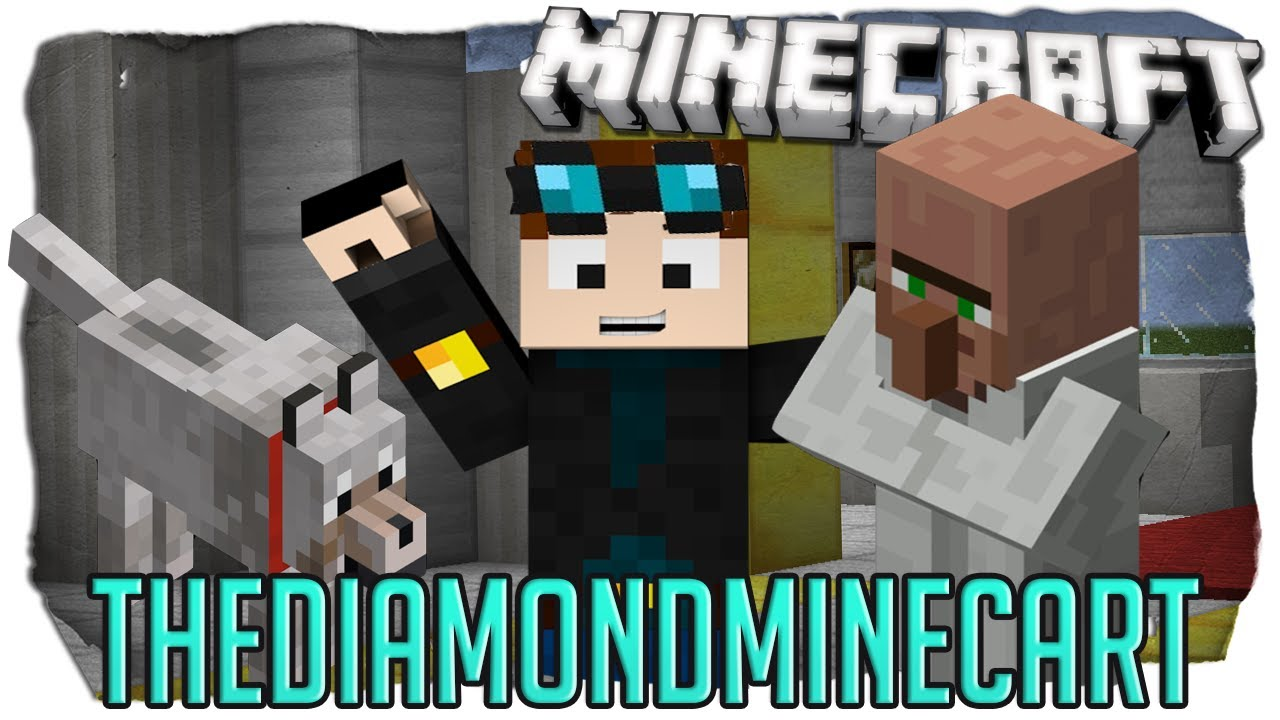 Dan tdm wallpaper wallpapersafari - Diamond minecart clones ...