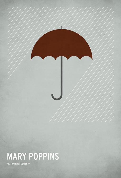 disney mary popings minimalist poster rain   image 264092 on Favim 510x746