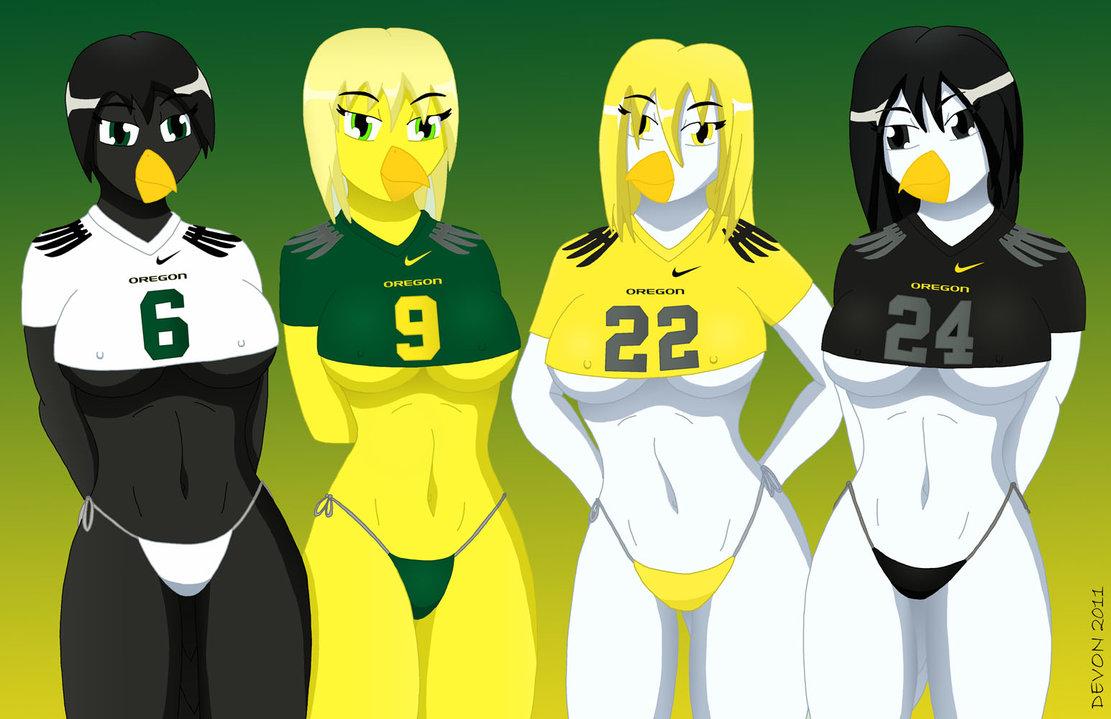 The Oregon Chicks Football By Devonn 1111x719