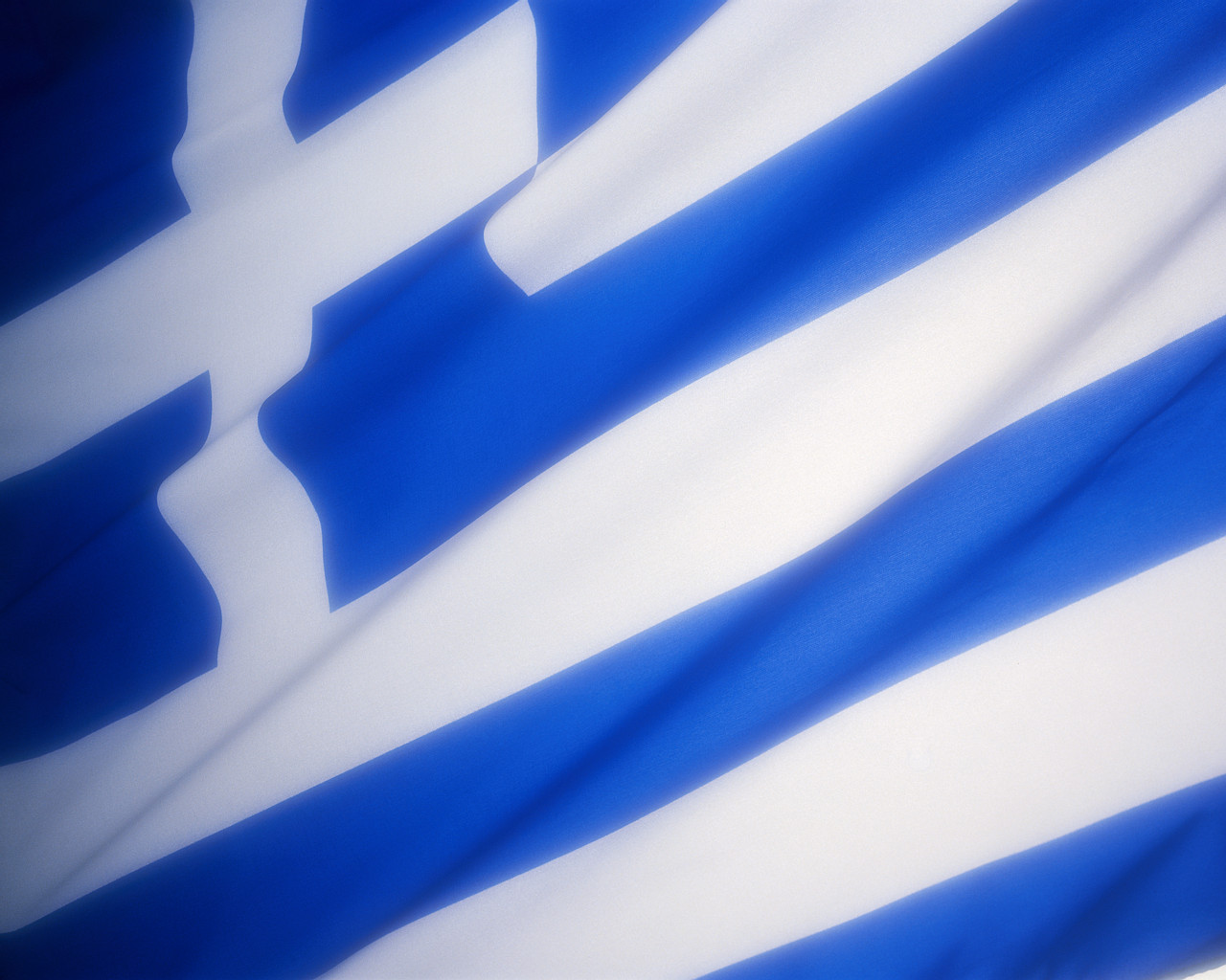 Graafix Wallpapers Flag of Greece 1280x1024