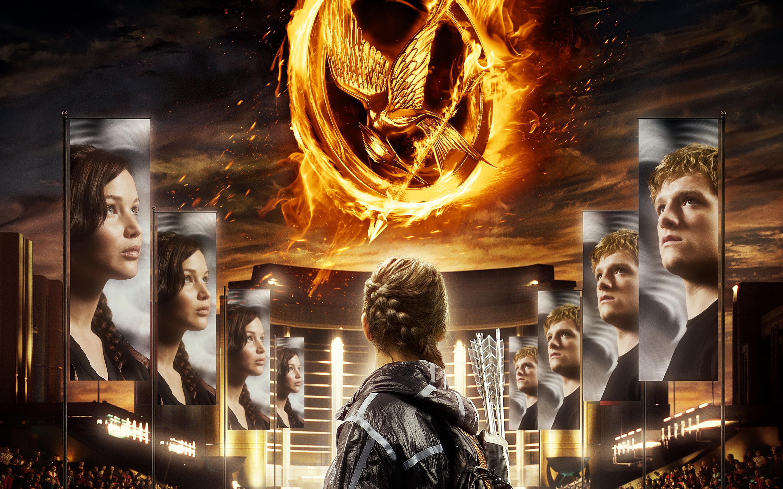 The Hunger Games 2012 Wallpapers HD Wallpapers 2560x1600