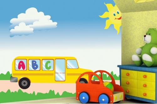 School Bus Wallpaper 501x334