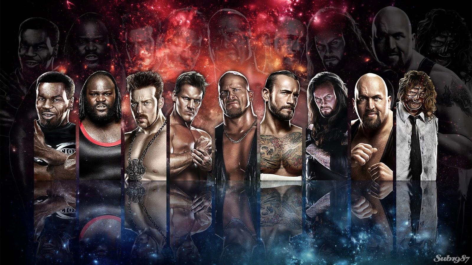 WWE 13 HD Wallpapers HD Wallpapers 1600x900