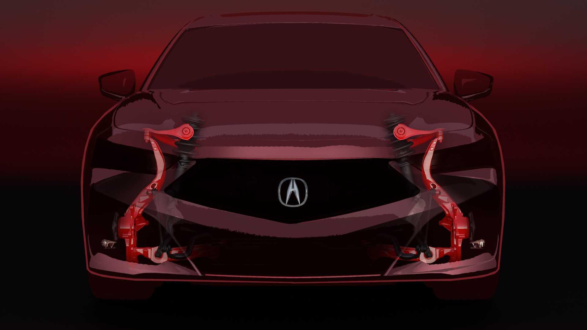 2021 Acura TLX Teases New Suspension Promises Sharper Cornering 1920x1080