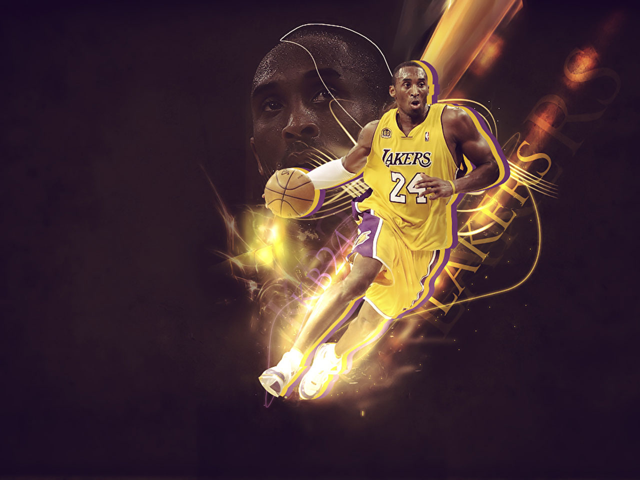 Kobe Bryant Wallpapaper Big Fan of NBA   Daily Update 1280x960